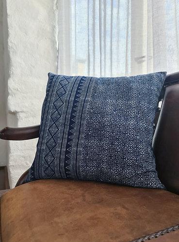 Vintage Hmong Hemp Cushion Cover 006