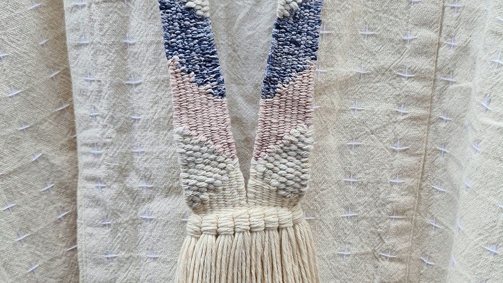 Handwoven necklace