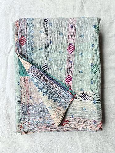 Vintage Kantha Throw 01/2
