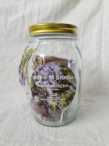 Bundle Dye Kit- Purple and Olive