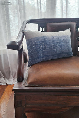Vintage Hmong Hemp Cushion Cover 003