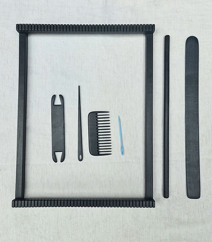 Weaving kit- Frame Loom and Tools