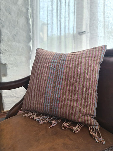 Vintage Hmong Handwoven Cushion Cover 007