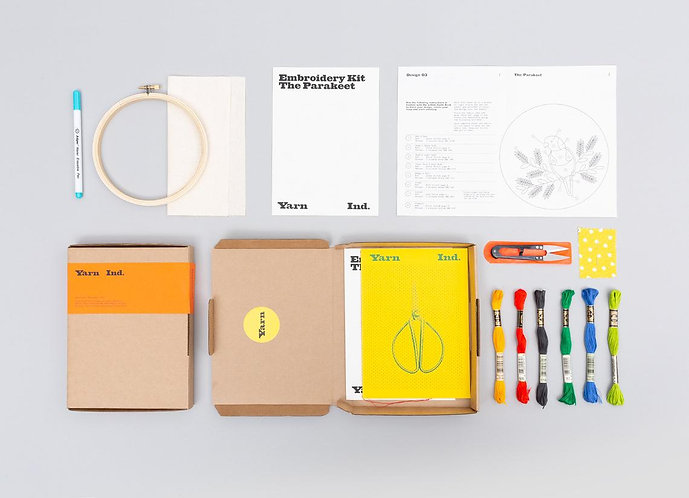 Beginners Embroidery Kit by Yarn Industries