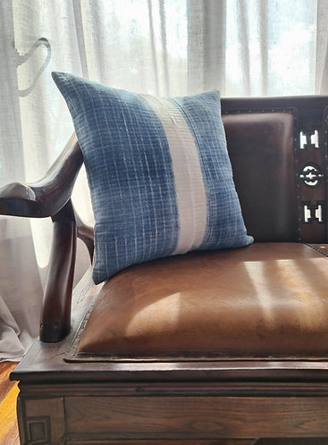 Vintage Hmong Hemp Cushion Cover 002