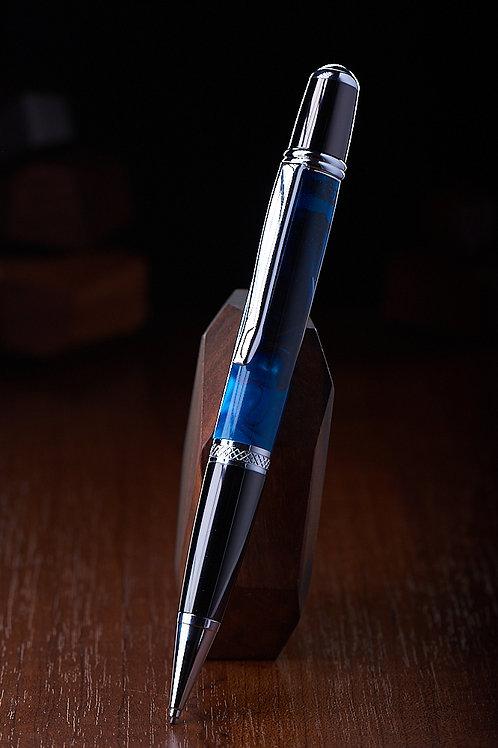 Ручка Alcor синий акрил