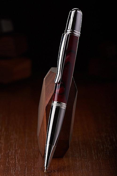 Ручка Alcor красный акрил