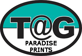 Paradise Prints for T@g: Set of Two