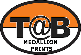 Medallion Prints for T@b: Set of Two