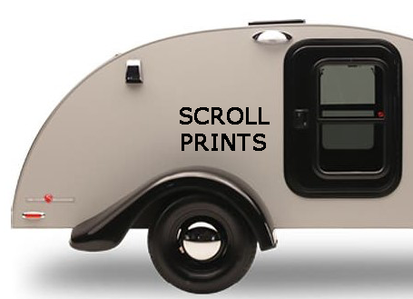 Scroll Prints for Silver Shadow: Set of Two