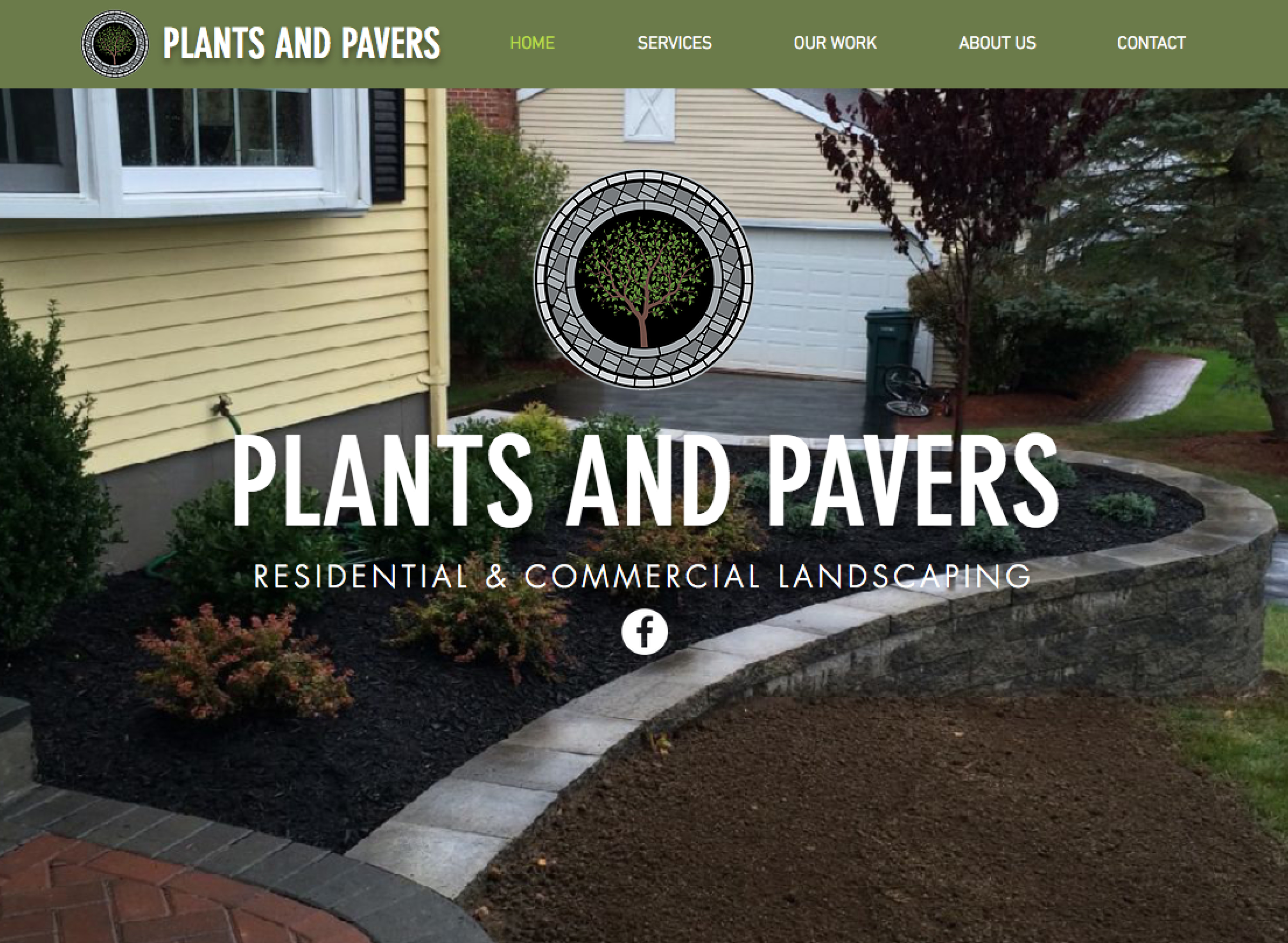 Plants and Pavers