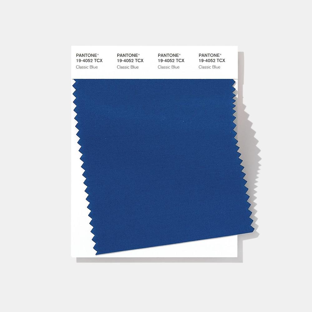 Pantone Swatch - Classic Blue