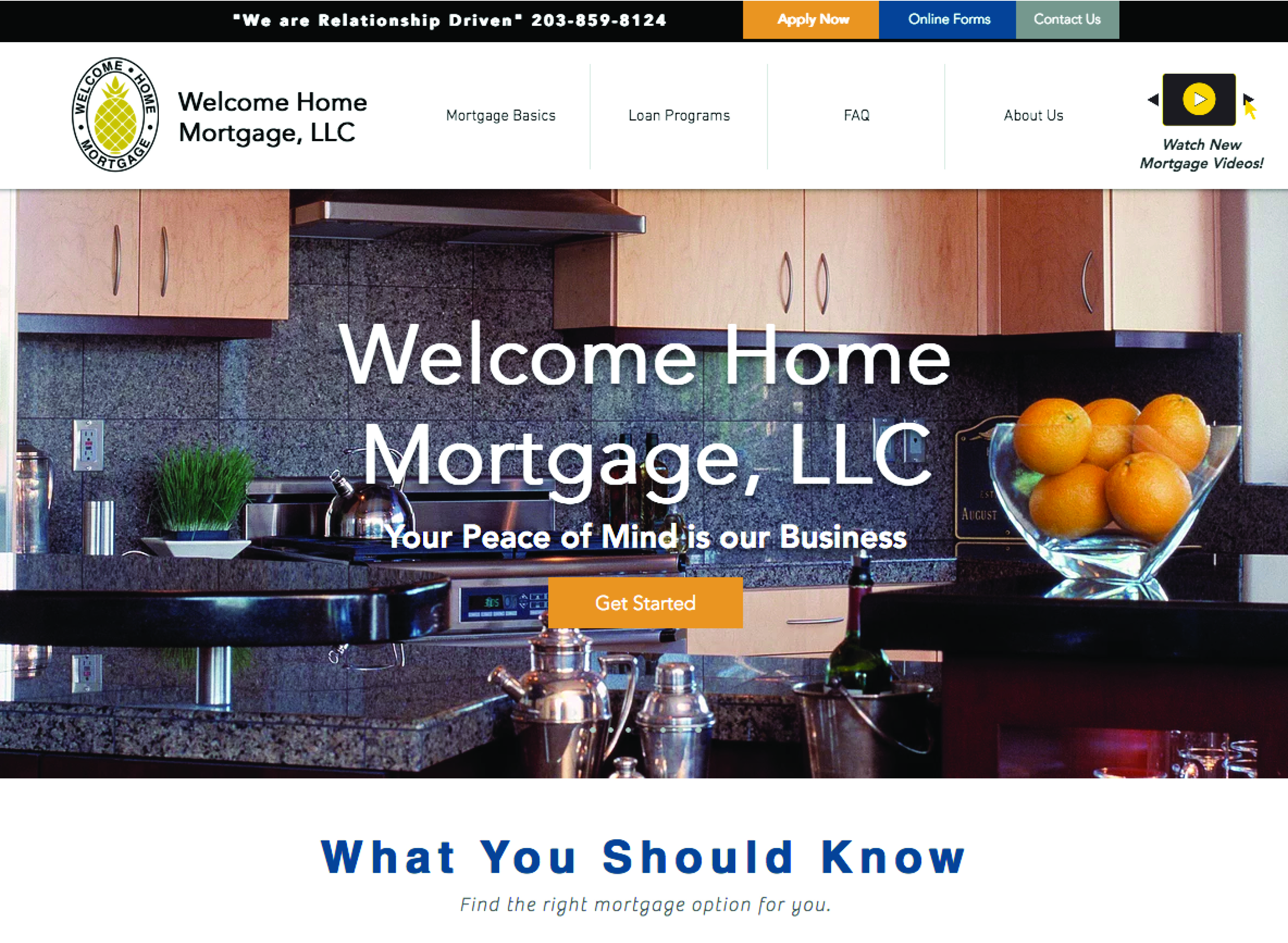 Welcome Home Mortgage