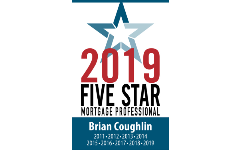 Five Star Award for Brian