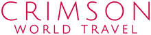 Crimson World Travel Logo