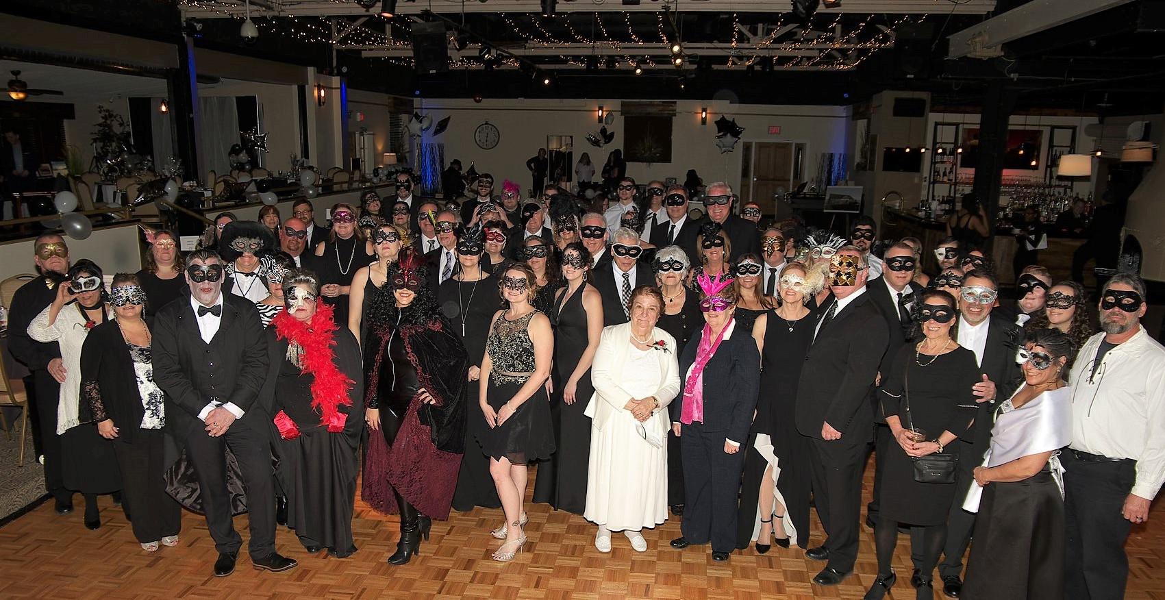 2019 Black and White Masquerade Ball
