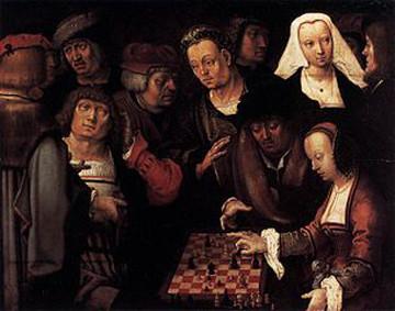 Lucas van Leyden, The Game of Chess, 1508