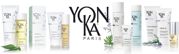 M Spa Yonka Paris Professional Products lineup