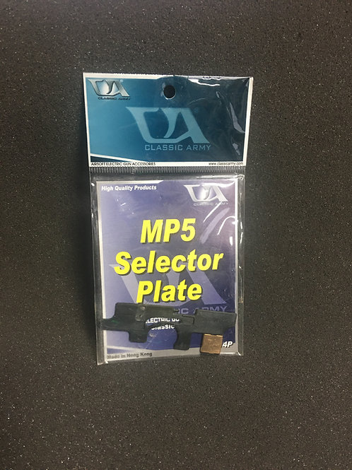 Classic Army MP5 Selector Plate