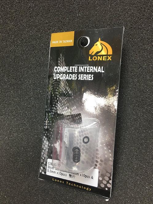 copy of Lonex Steel Shims (0.15mm & 0.30mm narrow)