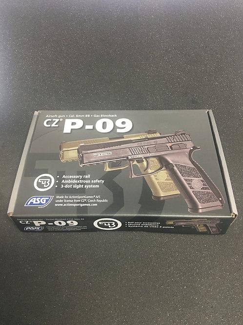 ASG CZ P-09 Gas Blowback Pistol