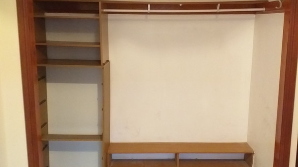 Double Wardrobe (Before)