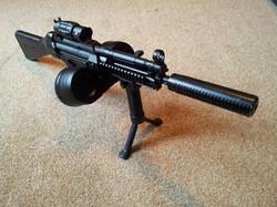 Facebook - A JG Full Metal MP5 with custom gearbox, MOSFET, Prometheus barrel, M
