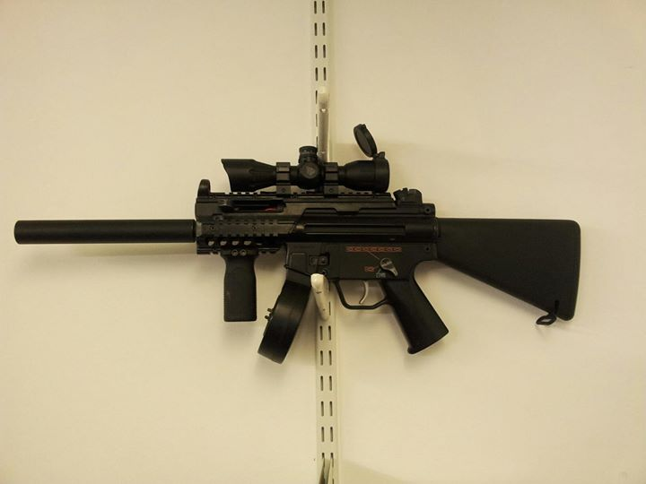 Facebook - A custom MP5KoA.  Bodywork is just about finished.jpg
