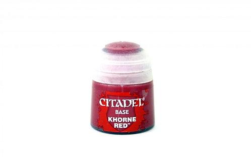 BASE: Khorne Red (12ML)