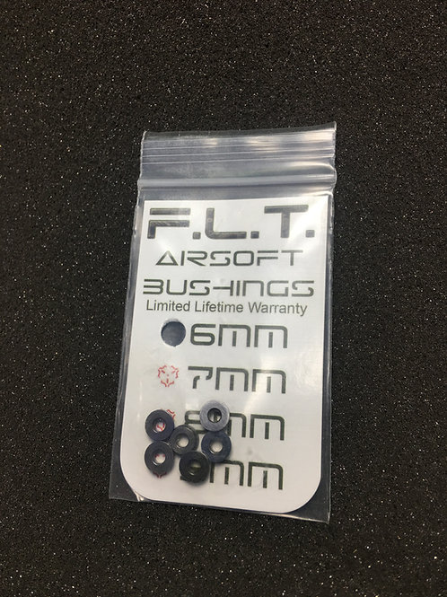 F.L.T. 6mm Steel Bushings