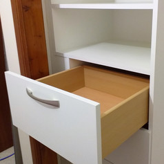 A Modern Drawer in a Modern Wardrobe