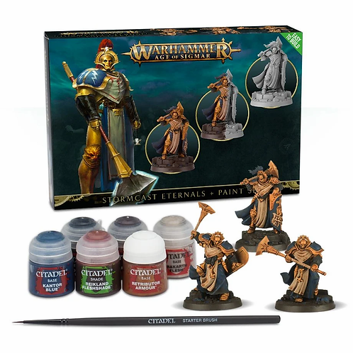 STORMCAST PAINT SET+ ENG/SPA/PORT/LATV/ROM