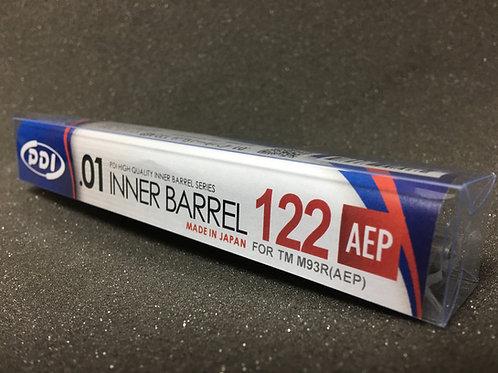 PDI Stainless Inner Barrel for TM M93R AEP (122mm 6.01)