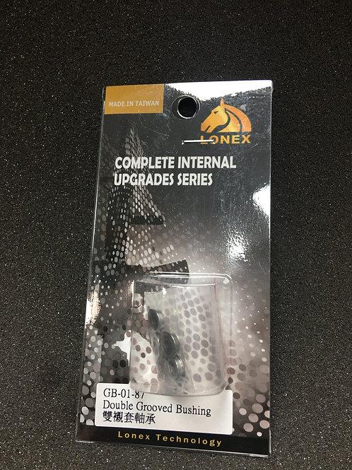 Lonex Double Groove Steel Bushings (8mm)