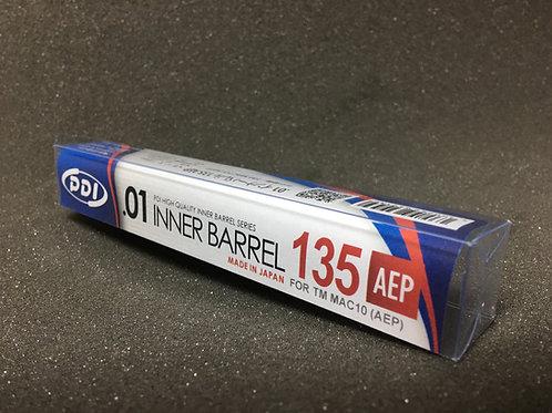 PDI Stainless Inner Barrel for TM Mac-10 AEP (135mm 6.01)
