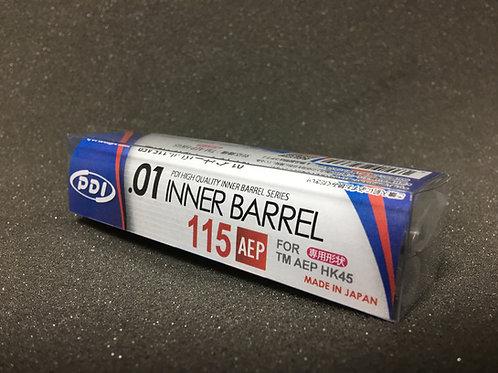 PDI Stainless Inner Barrel for TM HK45 AEP (115mm 6.01)