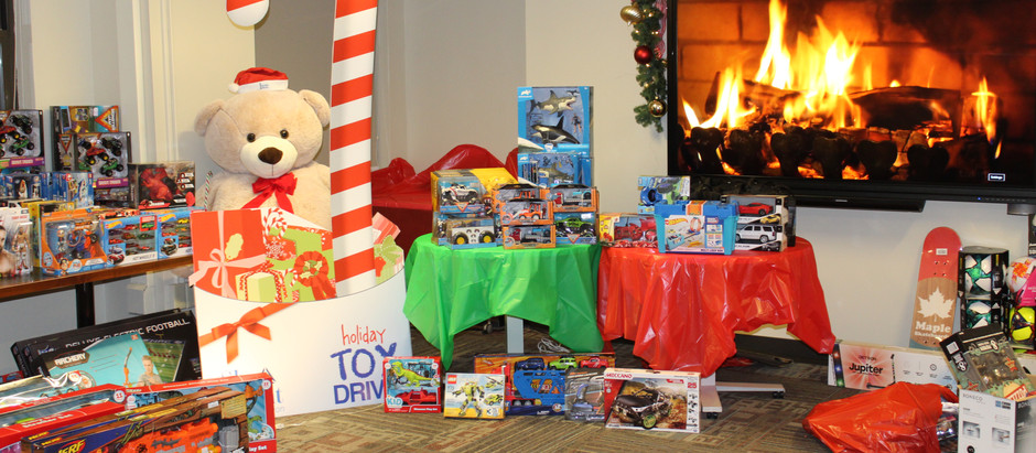 Joyful and Triumphant: Wrapping Up the 5th Annual Holiday Toy Drive