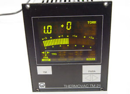 Leybold Thermovac TM-21 Vacuum Gauge Controller