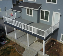 Remodel decking and railing