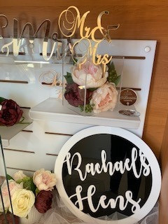 Cake Toppers & Event Signage