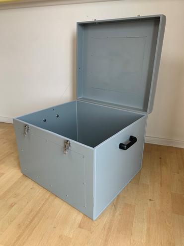 Satellite transportation box