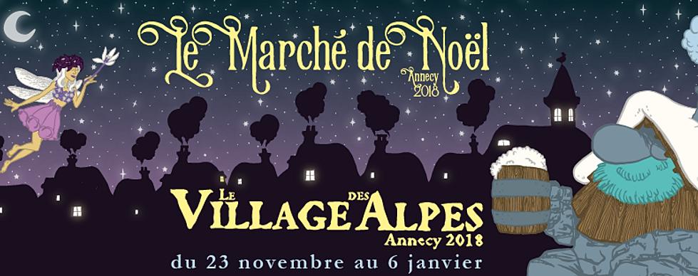 marché de noel annecy 2018 dates Marché de Noël d'Annecy   Village des Alpes marché de noel annecy 2018 dates
