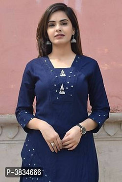 Party Wear Rayon designer Kurta with Bottom