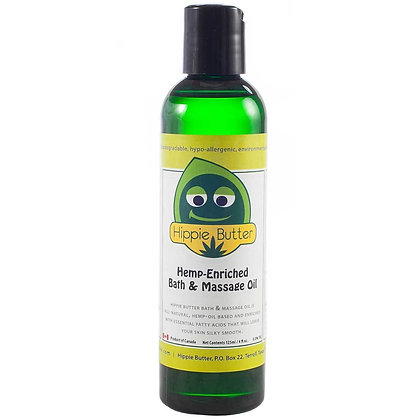 Hippie Butter Hemp Massage Oil