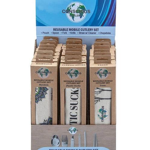 Conscious Cutlery Travel Cutlery Set