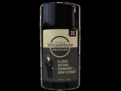 WholeMade Men's Deodorant