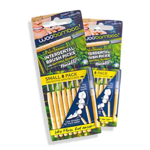 WooBamboo Interdental Brush Picks
