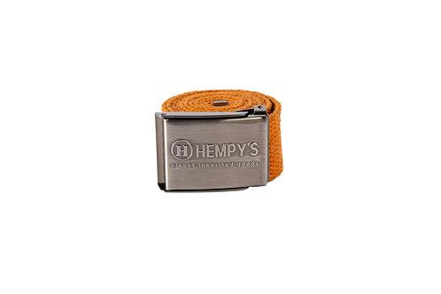 """Hemp Scout (1.5"""") Belt, Rust"""