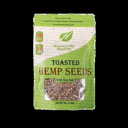 Historically Healthy Toasted Hemp Seeds
