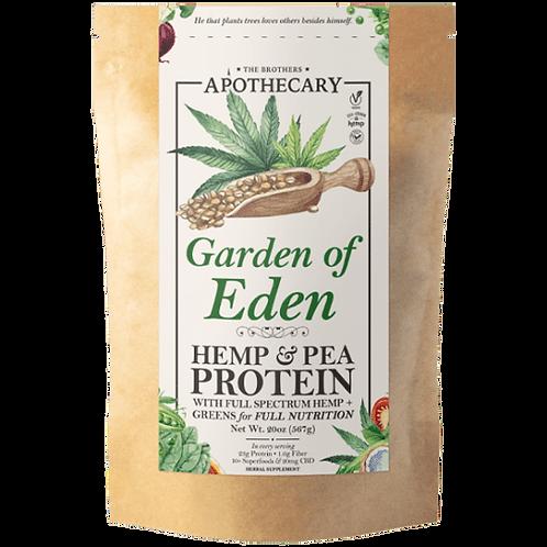 The Brother's Apothecary Garden of Eden CBD Protein Powder